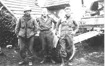 soldiers from Cannon Co 254th Inf- Germany 1945