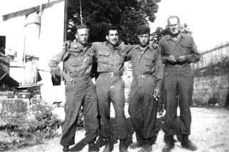 Soldiers of Cannon Co 254th Inf in Germany 1945