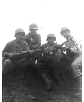 Soldiers I/255th Inf Cp Van Dorn, MS 1944