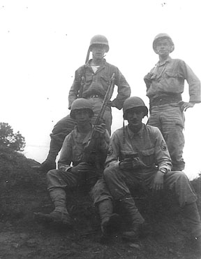 Soldiers I/255th Infantry Cp Van Dorn, MS 1944