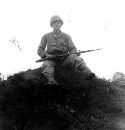 Hutson I Co 255th Inf Cp Van Dorn MS 1944