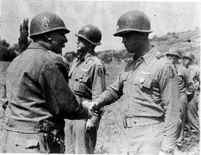 I/254th Infantry Regiment Awards ceremony, Germany 1945