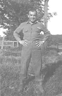S/Sgt James Karambetsos E/253d Inf Germany 1945