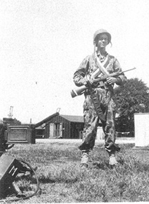 Pfc Moffatt, M Company 254th Infantry