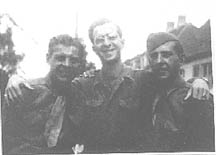Soldiers from G/253d Inf in Germany 1945