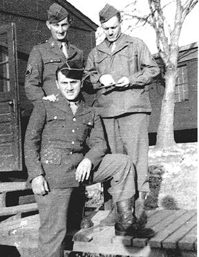 Schwade and others M Co 254th Inf Cp Van Dorn
