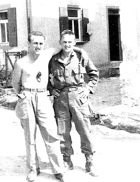 Schwade and Jancy M/254th Inf 1945