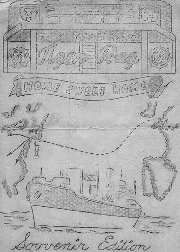 Sea Tiger souvenir pamphlet