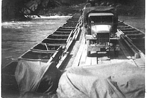 Crossing the Danube C/263d Engr Apr 45