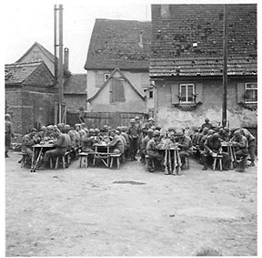 C Co 263d Engr Bn Mess hall- Egersheim, Germany 45