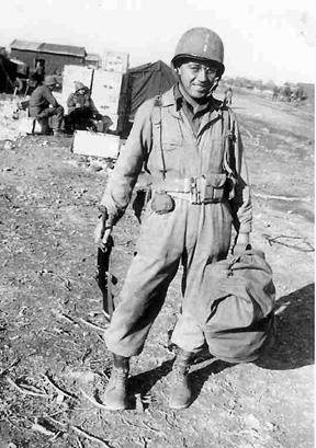 Lt William Taylor A&P Plat Hq 1st Bn 253d Inf- Marseille, France Dec 44