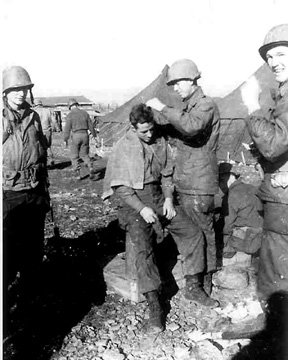 A&P troops in Marseille, France Dec 44