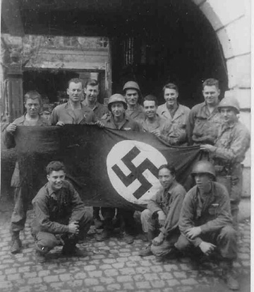 Soldiers of A& P Platoon Hq 1st Bn 253d Infantry - Germany 1945