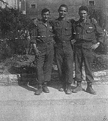 A/255th Inf Troops Germany 1945