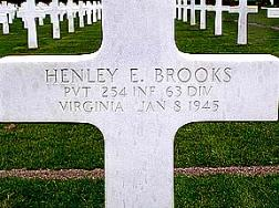 Hanley Brooks-254th Infantry