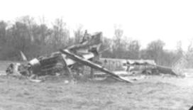 German bomber shot down in Bavaria Apr 45