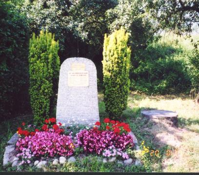F/253d Memorial located in Buchhof Germany