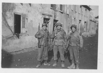 Soldiers B Company 254th Infantry Germany 1945
