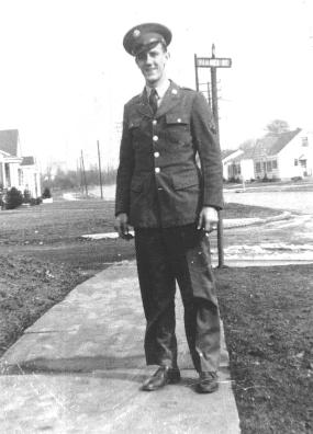T/5 Roy Hartney home on Leave-1944